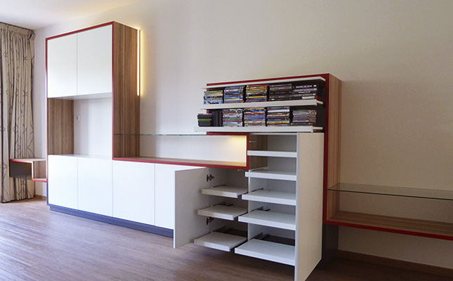 WANDKAST | skyline Architectuur Interieur